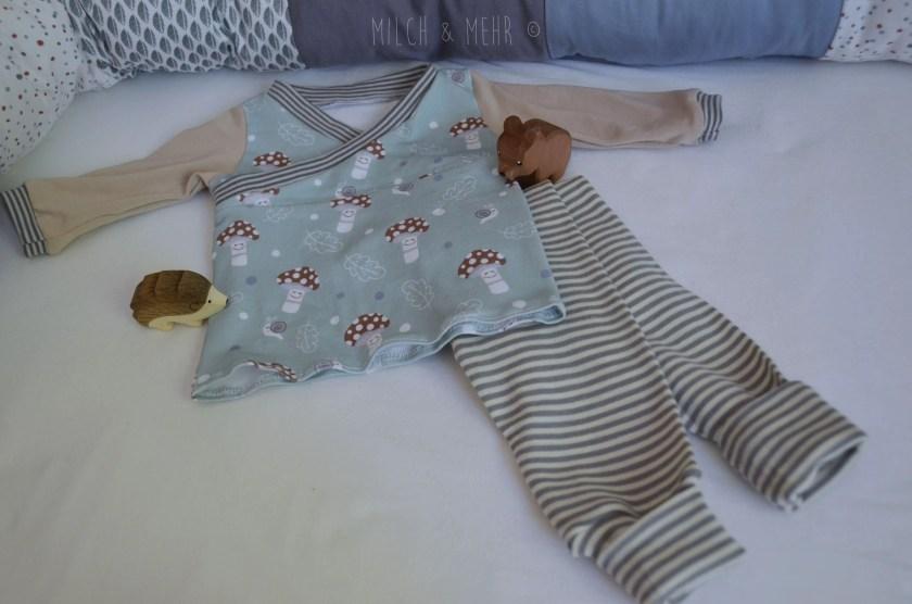 gesunde oekologische nachhaltige Kleidung fuer Babys