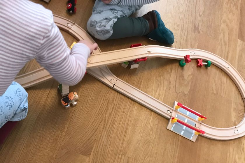 WIB #KW43 Brio Eisenbahn bauen