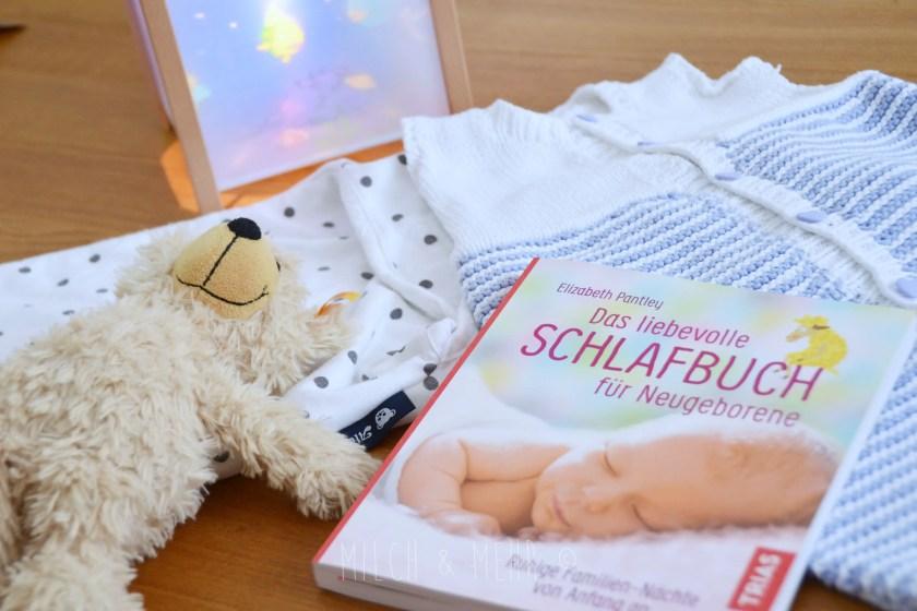 Buchtipp Das liebevolle Schlafbuch fuer Neugeborene