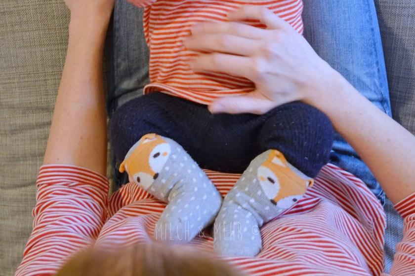Verdauung beim Baby anregen Massage