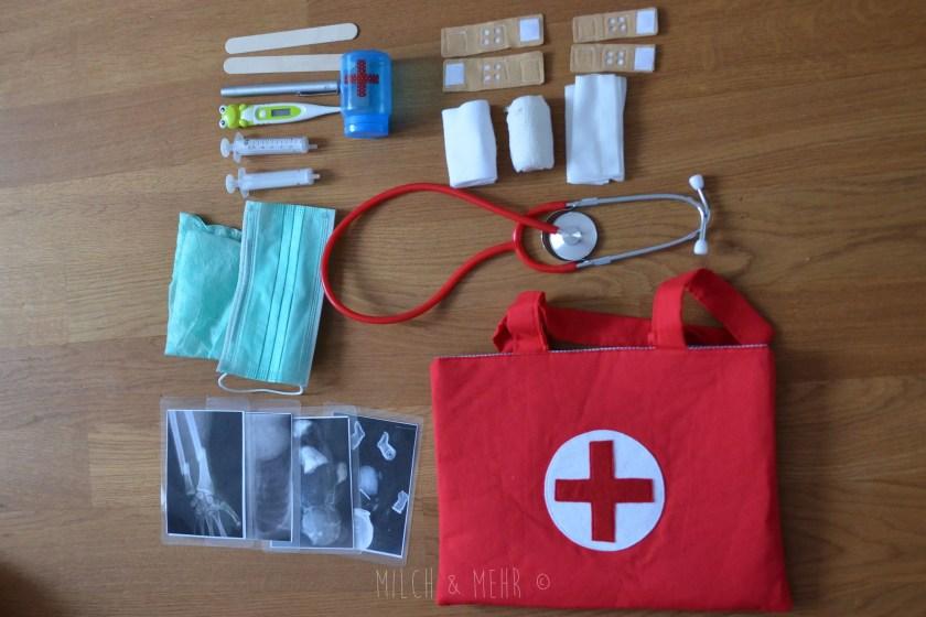 DIY Kinderarztkoffer Zubehoer