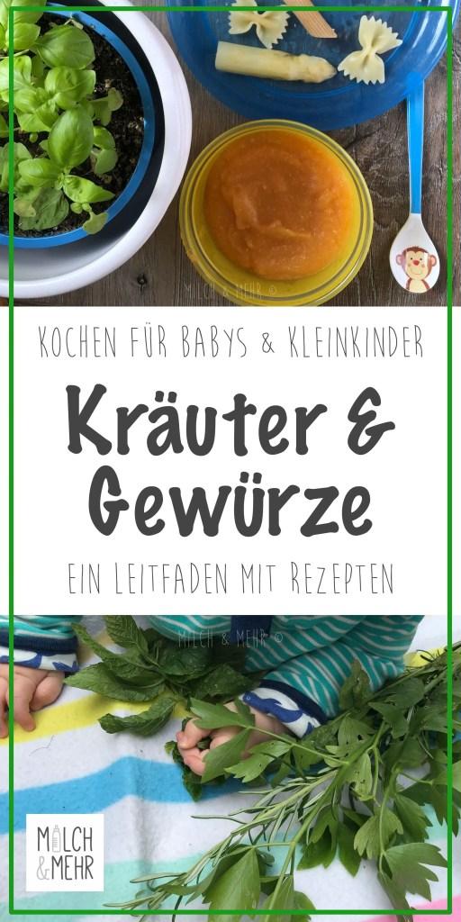 frische Kraeuter und Gewuerze fuer Babys