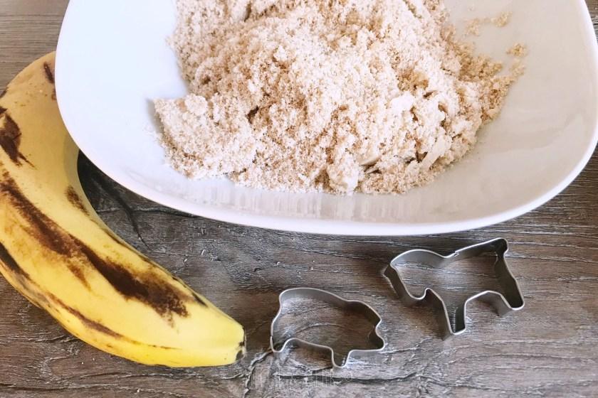 Babykekse zuckerfrei mit Banane zum Ausstechen Thermomixrezept