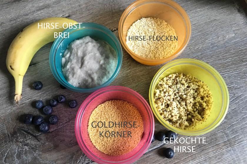 Foodfacts Hirse Flocken und Korn