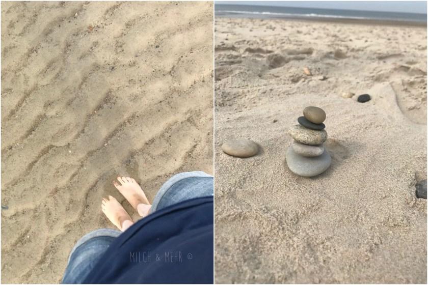 einsamer Strand bei Hvide Sande