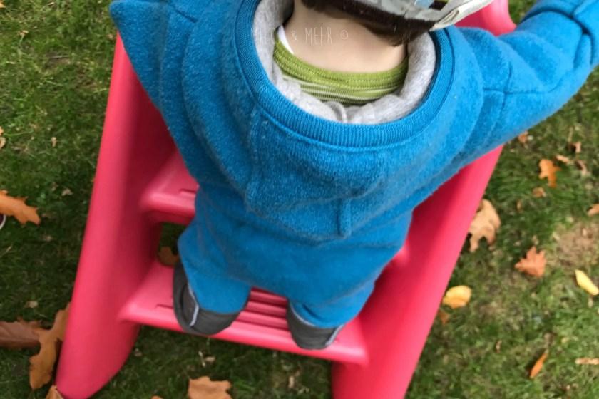 WIB #kw41 Baby lernt alleine rutschen