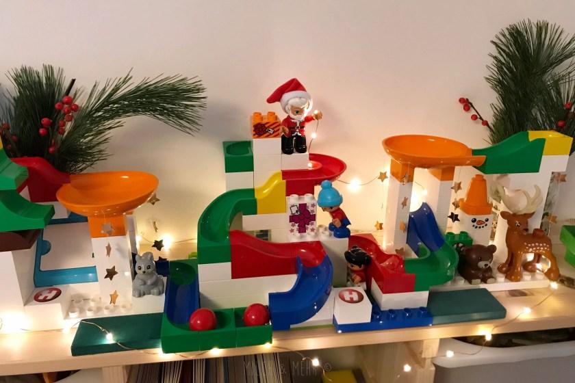 Milch und Mehr Weihnachtskugelbahn