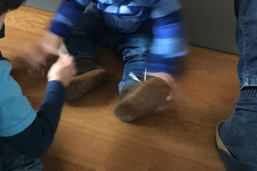 WIB #kw45 erste Schuhe fuer den Kleinsten