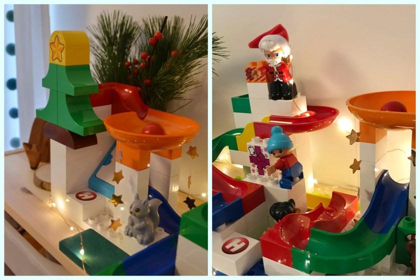 bespielbare Weihnachtsdekoration fuer Kleinkinder Hubelino