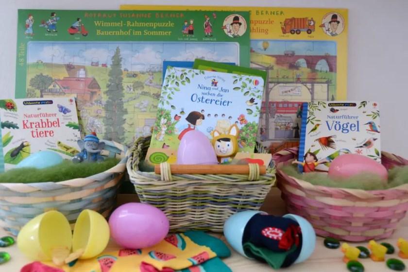 Osternest Ideen Wiederbefüllbare Eier