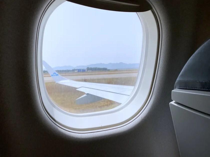 Flug mit KLM