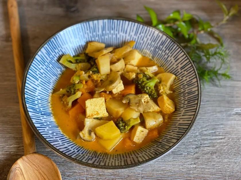 Gemuese Curry Herbst