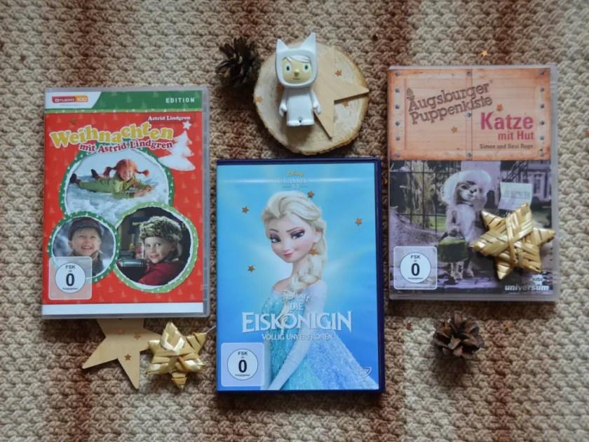 Adventskalender Zeit schenken Filmeabend