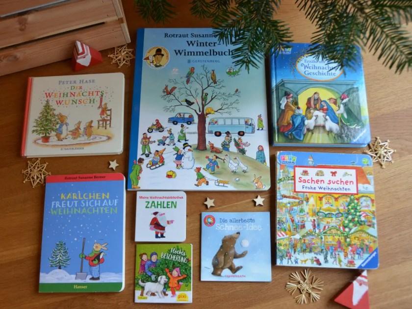 Kinderbuecher Weihnachten zwei Jahre
