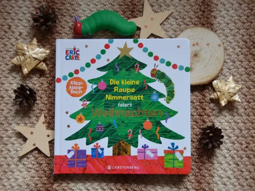 Weihnachtsbuch Raupe Nimmersatt
