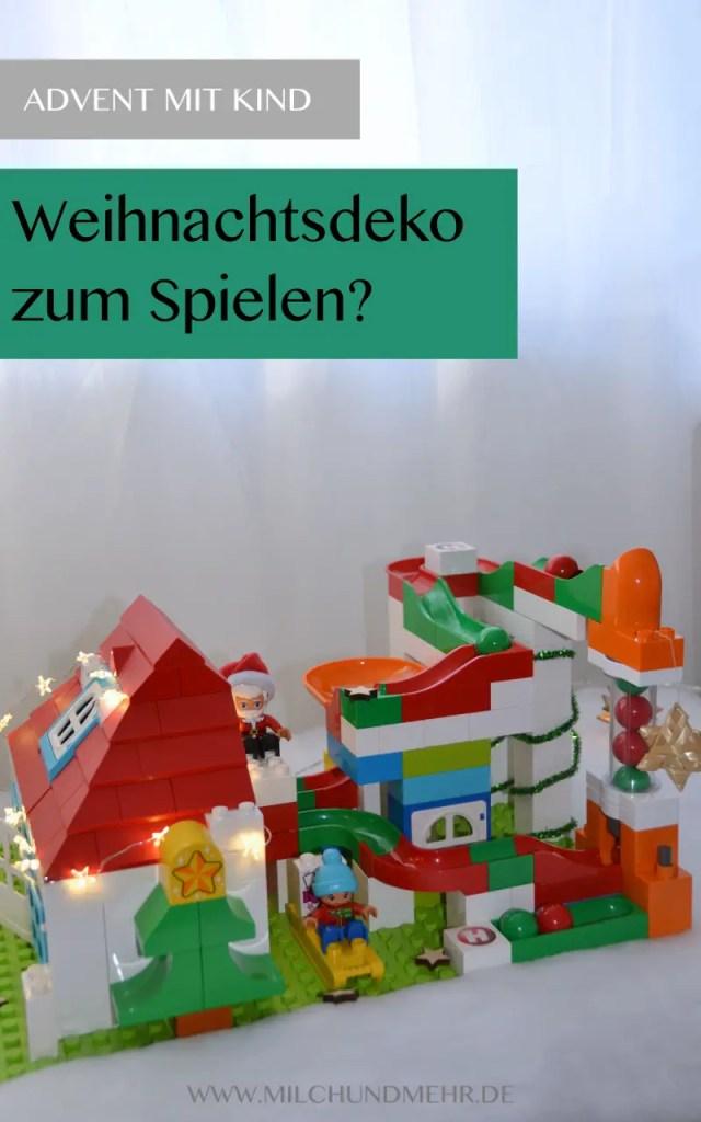 Weihnachtsdeko zum Spielen
