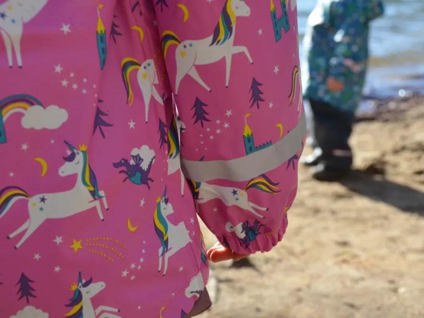 Naturzwerge Kindermode Regenjacke