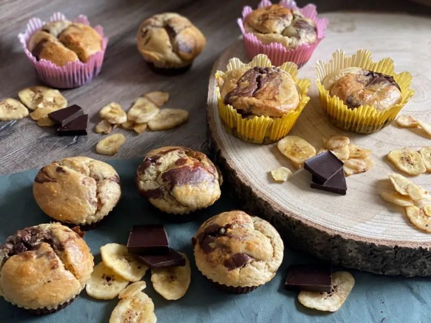 Marmor-Muffins Ohne Zucker