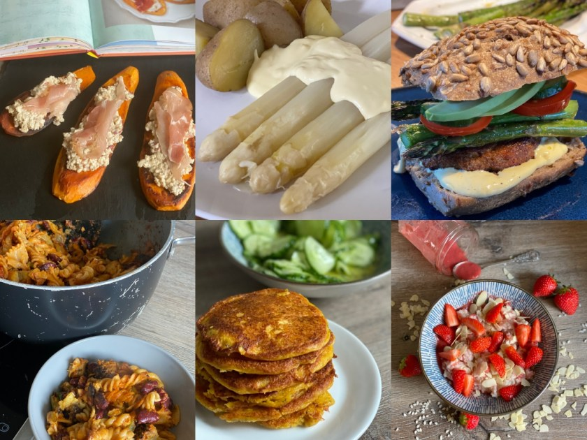 Familien-Rezepte Saisonal kw18