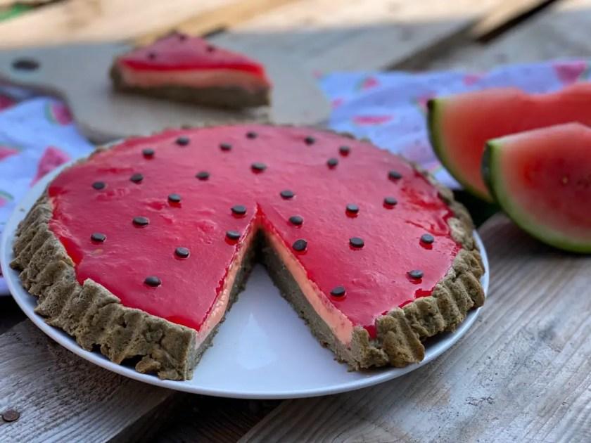 Melonenkuchen ohne Farbstoffe
