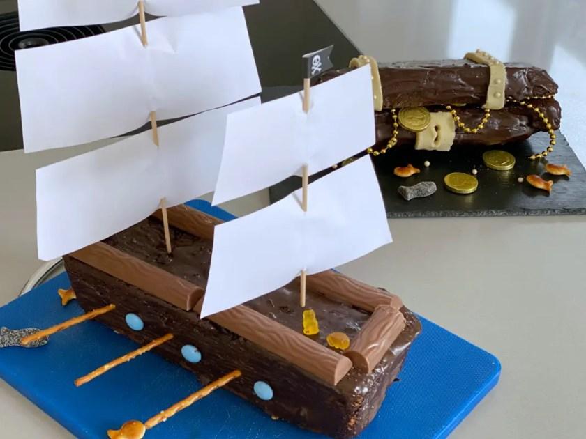 Piraten Kindergeburtstag Kuchen