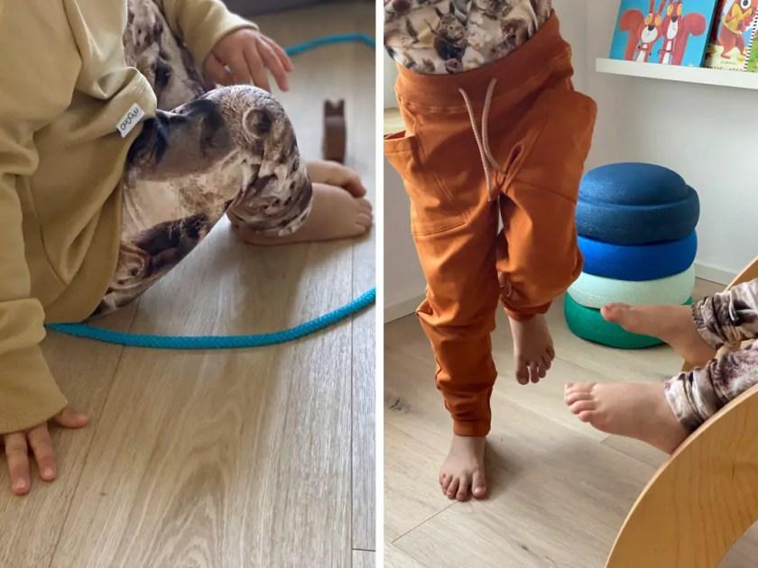 Bewegungsspiele Wohnzimmer