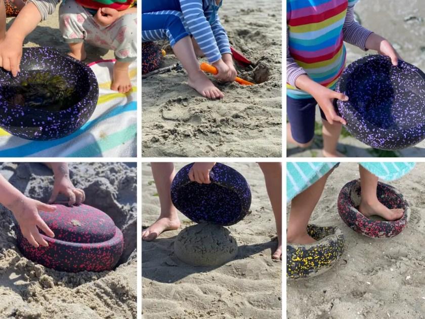 Stapelstein Spielideen Strand