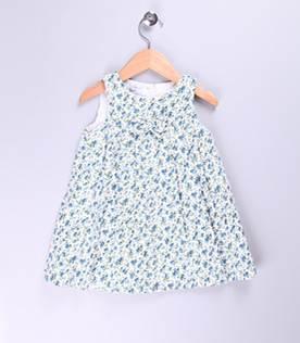 vestido floral vic