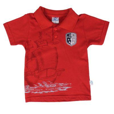 camiseta pirata menino