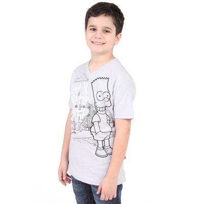 camiseta simpsons menino