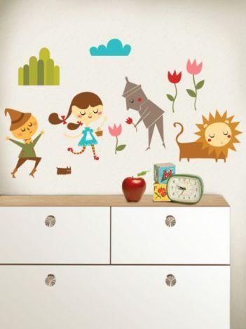 Adesivo infantil de parede lindo