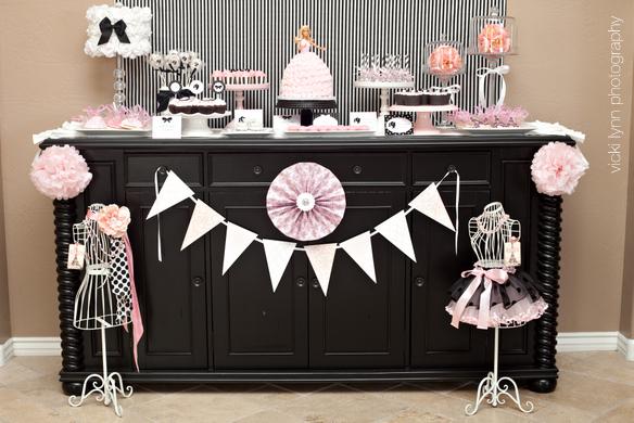 mesa festa barbie