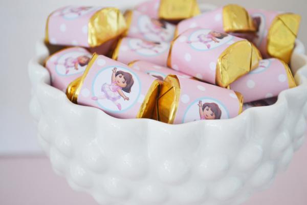 festa dora aventureira chocolates