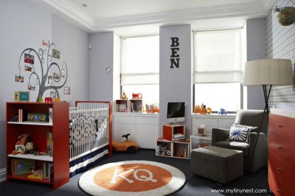 quarto de menino para bebe