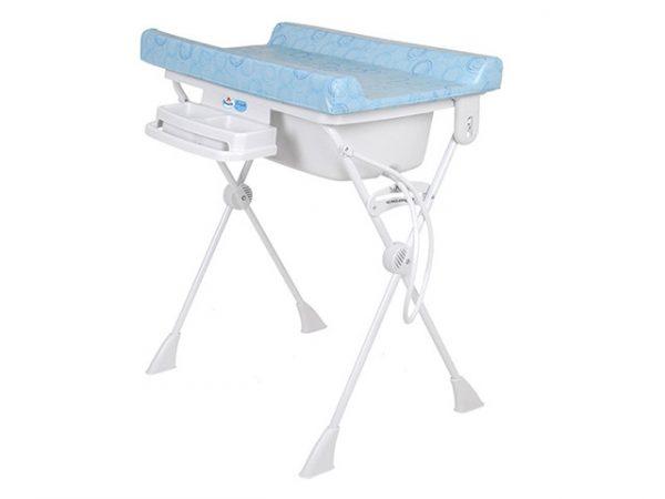 banheira para bebê com trocador