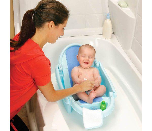banheira para bebê dobrável