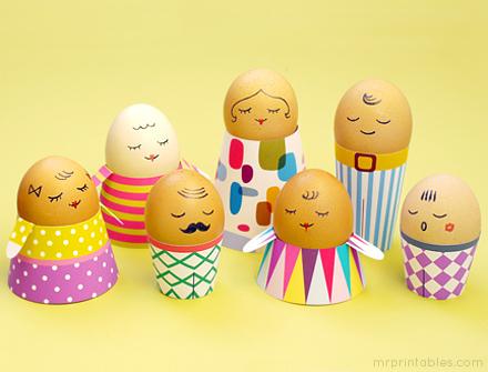 família de ovos