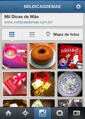 Mil Dicas de Mãe no Instagram