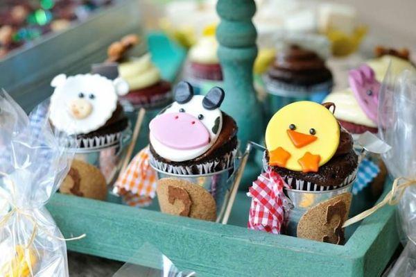 Cupcake festa fazendinha