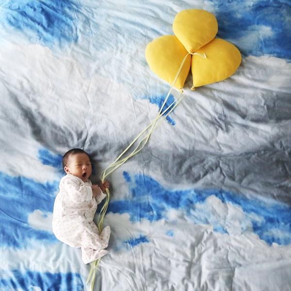 Com balões