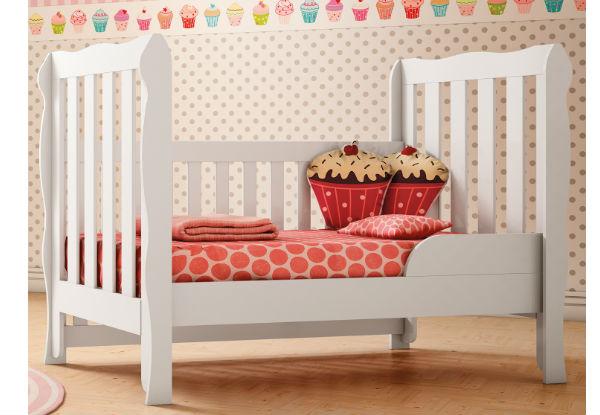 Montagem de mini-cama: repare como a estética não é bacana