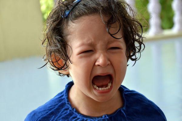 crise de raiva