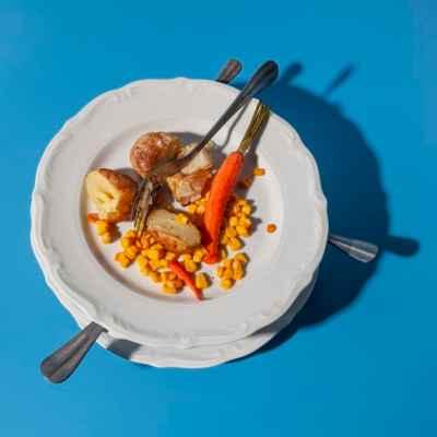 desperdício de alimentos nas refeições