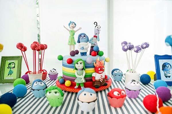 festa divertidamente bolo decorado