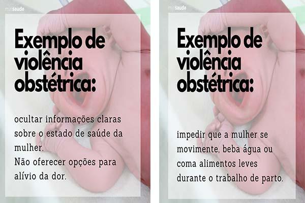 violência obstétrica gestante