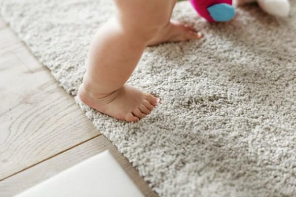 quando o bebê começa a andar