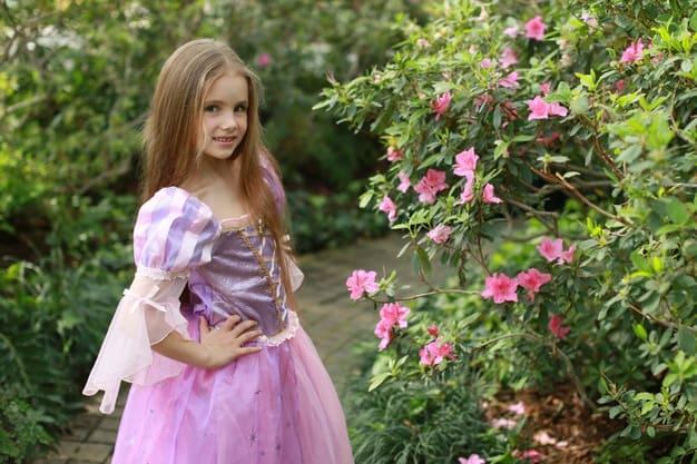 roupa da rapunzel personagens da Disney