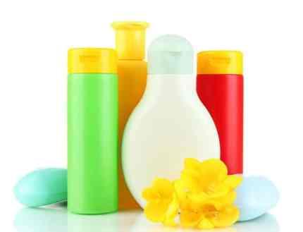 produtos de higiene para bebês