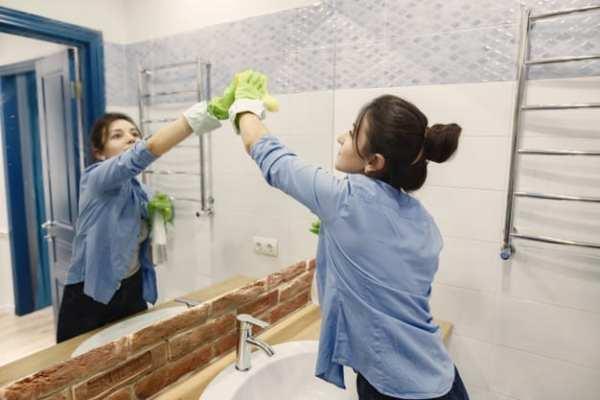 vinagre para limpeza de banheiro