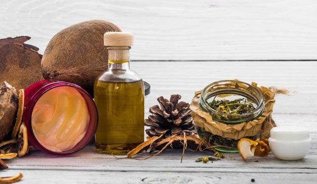 Produtos orgânicos para pele